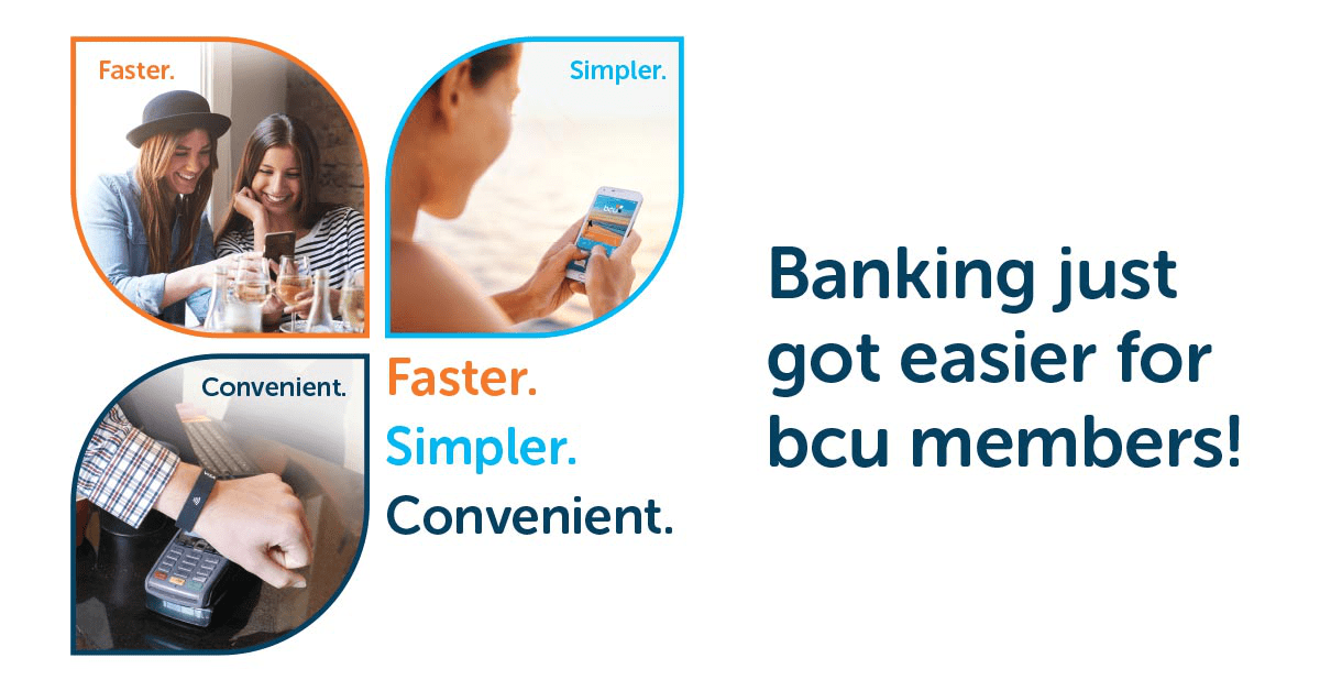 Faster, simpler, more convenient banking technology solutions are available at bcu today