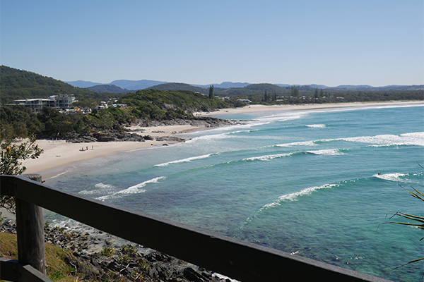 Cabarita beach NSW