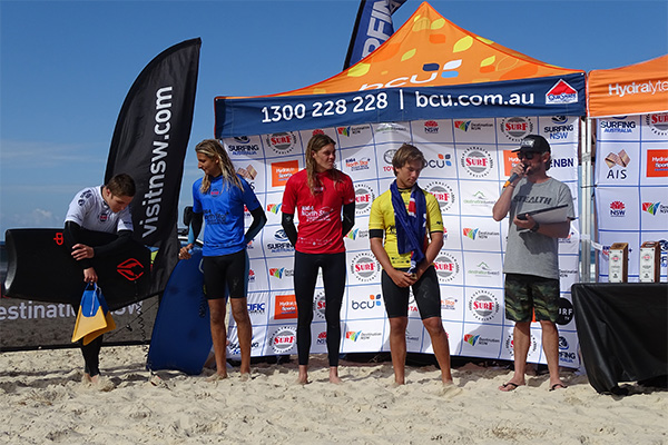 Australian Surf Festival winners awards