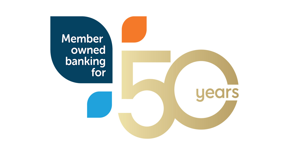 Celebrating 50 years of member owned banking