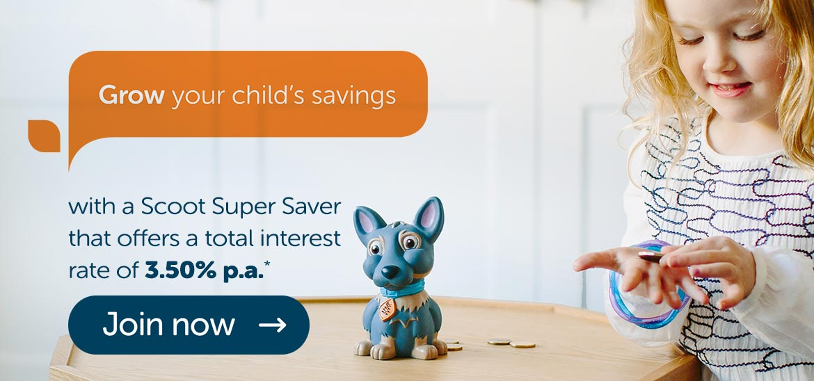 Grow your child's savings