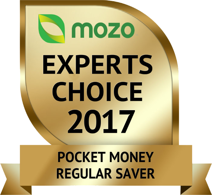 Mozo Experts Choice 2017 - Pocket Money Regular Saver