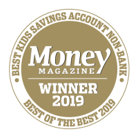 Best kids savings account non-bank Money Magazine - Winner 2019 Best of the Best 2019
